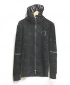 Francis T MOR.K.S(フランシストモークス)の古着「ジップパーカー」|ブラック