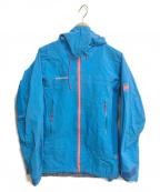 MAMMUT()の古着「Mittellegi Pro HS Hooded Jacke」|ブルー