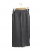 Americana(アメリカーナ)の古着「イージータイトスカート」|チャコールグレー