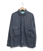 CORONA(コロナ)の古着「Hiker Shirt」|インディゴ