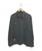 UNDERCOVER(アンダーカバー)の古着「ロングスリーブシャツ」|ブラック
