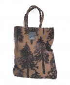 mina perhonen(ミナ ペルホネン)の古着「toast bag」|ブラウン