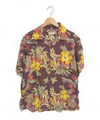 Sun Surf(サンサーフ)の古着「アロハシャツ」|ボルドー