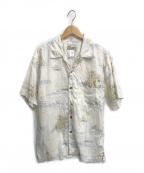 pataloha(パタロハ)の古着「アロハシャツ」|ホワイト×ブルー