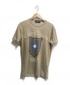 DSQUARED2(ディースクエアード)の古着「エンブレムプリントTシャツ」|ブラウン
