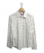 PS Paul Smith(PSポールスミス)の古着「アニマル柄シャツ」|ホワイト