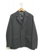 ()の古着「ワイドジャケット」|ブラック