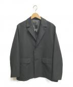 Lui's()の古着「ワイドジャケット」|ブラック