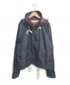 MARNI(マルニ)の古着「フーデッドナイロンブルゾン」|ネイビー