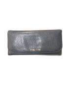 ()の古着「カードケース付2つ折り財布」|ブラック