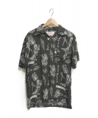 ()の古着「アロハシャツ」|ブラック
