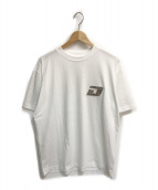 ()の古着「刺繍カットソー」 ホワイト