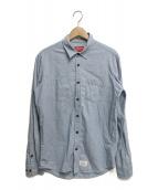 ()の古着「L/Sシャツ」 スカイブルー