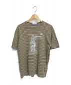 ()の古着「ATHENS'82 Tシャツ」 ブラウン×ネイビー