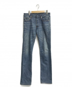 Dior(ディオール)の古着「ボタンフライデニムパンツ」|インディゴ