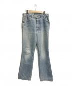 LEVI'S(リーバイス)の古着「80,sフレアデニムパンツ」|インディゴ
