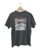 ()の古着「プレジデントプリントTシャツ」 ブラック