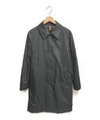 PAUL SMITH()の古着「ダウンステンカラーコート」 ブラック