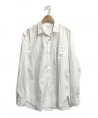 PHIGVEL MAKERS(フィグベルマーカーズ)の古着「REGULAR COLLAR DRESS SHIRT」|ホワイト