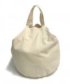 PHIGVEL MAKERS(フィグベルマーカーズ)の古着「ROUND TOTE BAG」|アイボリー