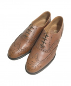 Lloyd footwear(ロイドフットウェア)の古着「ウィングチップシューズ」|ブラウン