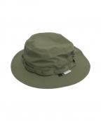DAIWA(ダイワ)の古着「INFINIUM TECH JUNGLE HAT」 オリーブ