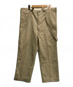 VISVIM(ビズビム)の古着「CAMUS BRACES PANTS WD」|ベージュ