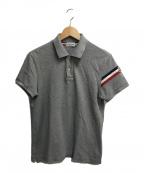 MONCLER(モンクレール)の古着「ポロシャツ」 グレー