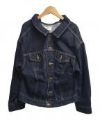 FRAY ID(フレイアイディー)の古着「デニムジャケット」|インディゴ