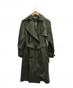 UNITED TOKYO(ユナイテッドトウキョウ)の古着「トレンチコート」|グリーン