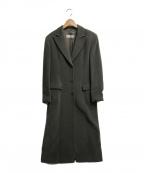MaxMara(マックスマーラ)の古着「ロングウールコート」 ダークグレー