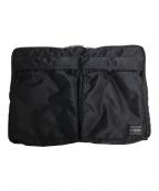 PORTER(ポーター)の古着「ドキュメントケース」|ブラック