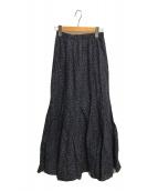()の古着「夢見るマーメイドのスカート」|ネイビー×ブラウン