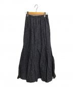 MARIHA(マリハ)の古着「夢見るマーメイドのスカート」|ネイビー×ブラウン