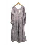 ()の古着「夕映えのドレス」|パープル