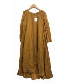 ()の古着「花園のドレス」|イエロー
