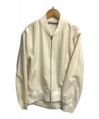 ()の古着「ジップアップブルゾン」 ホワイト