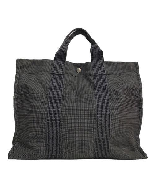 HERMES(エルメス)HERMES (エルメス) エールライントートバッグ ブラックの古着・服飾アイテム