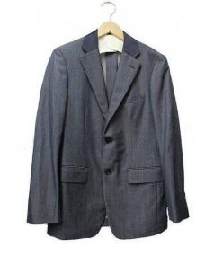 FRANKLIN TAILORED(フラクリン テーラード)の古着「テーラードジャケット」|グレー