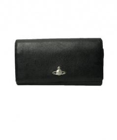 Vivienne Westwood(ヴィヴィアンウエストウッド)の古着「長財布」 ブラック
