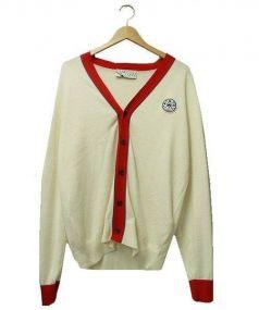KITSUNE(キツネ)の古着「ニットカーディガン」|ホワイト