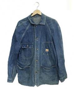 PAY DAY(ペイデイー)の古着「ヴィンテージデニムカバーオール」|インディゴ