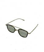 金子眼鏡(カネコメガネ)の古着「伊達眼鏡(メガネフレーム)」|ブラウン