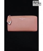 LOUIS VUITTON(ルイ・ヴィトン)の古着「ポルトフォイユ・コメット/ラウンドファスナー財布/」|ピンク