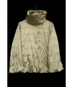 EPOCA(エポカ)の古着「デザインナイロンジャケット」|ベージュ