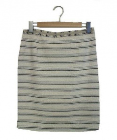 MAX MARA WEEK END LINE(マックスマーラウィークエンドライン)の古着「スカート」|ブラック×ホワイト