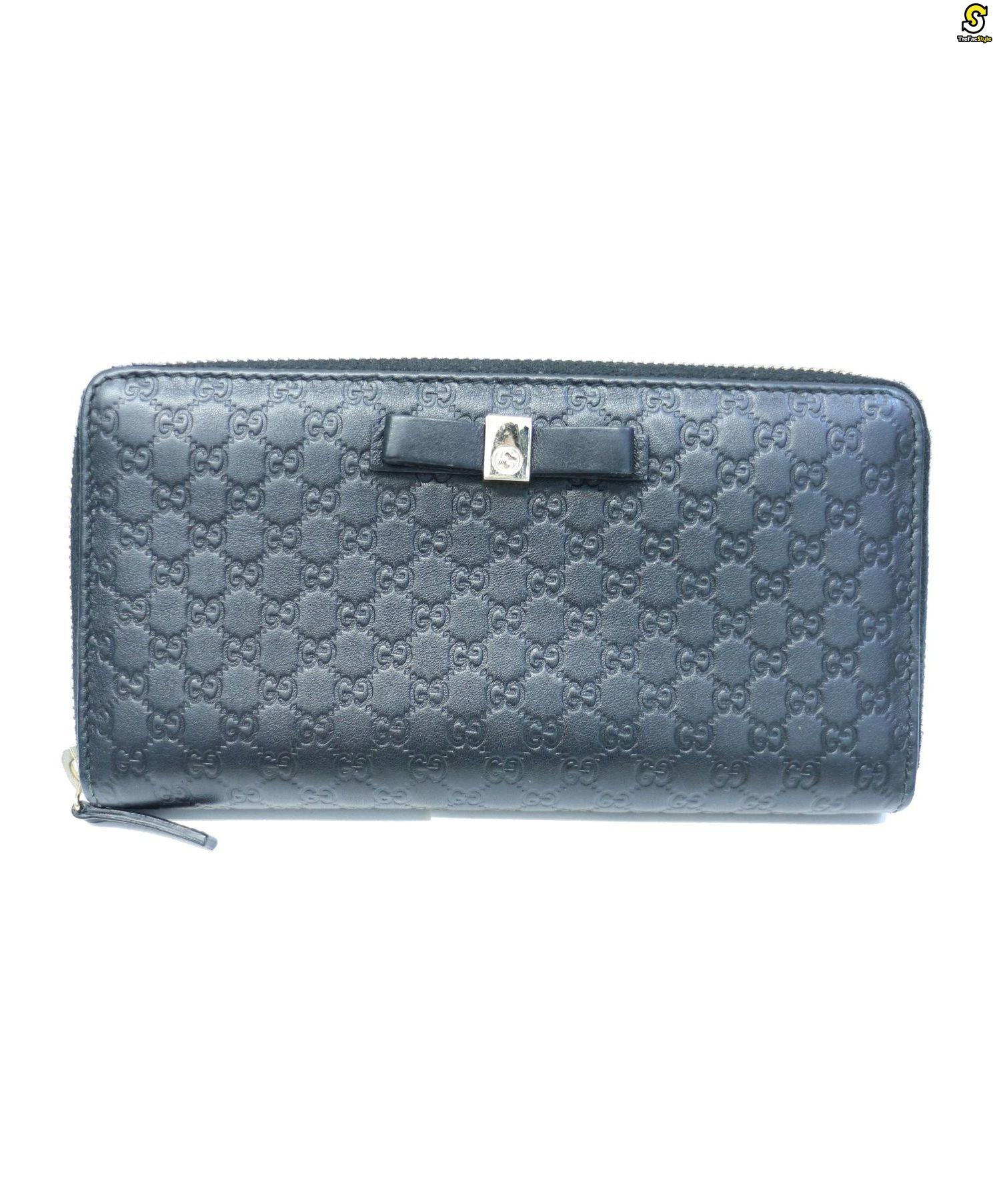 quality design 06672 f0c03 [中古]GUCCI(グッチ)のレディース 服飾小物 ラウンドファスナー財布