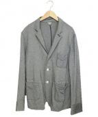 FilMelange(フィルメランジェ)の古着「鹿の子テーラードジャケット」|グレー