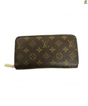 LOUIS VUITTON(ルイ・ヴィトン)の古着「ラウンドファスナー長財布」|ブラウン