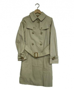 GRENFELL(グレンフェル)の古着「トレンチコート」|ベージュ